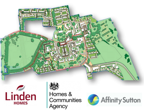 Linden Homes, Affinity Sutton & HCA – Graylingwell Park, Chichester