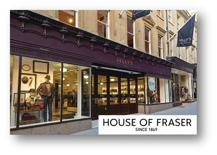House Of Fraser - Jolly\'s Department Store, Bath - FoddyConsult
